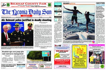 The Laconia Daily Sun – August 07, 2019
