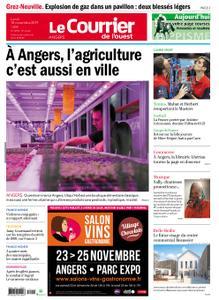 Le Courrier de l'Ouest Angers – 18 novembre 2019