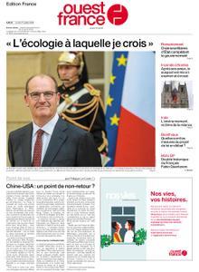 Ouest-France Édition France – 27 juillet 2020