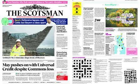 The Scotsman – October 19, 2017