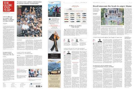 The Globe and Mail – September 04, 2018