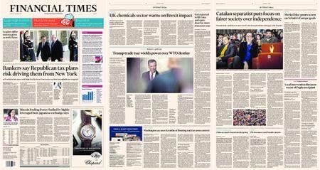 Financial Times Europe – 11 December 2017