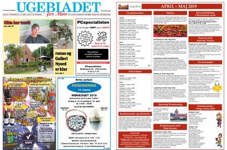 Ugebladet for Møn – 11. april 2019