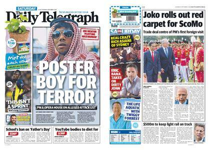 The Daily Telegraph (Sydney) – September 01, 2018