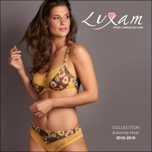 Luxam - Lingerie Collection Autumn-Winter 2018-2019