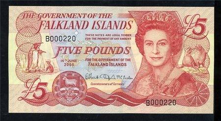 Банкноты всех стран мира! - Фолклендские острова