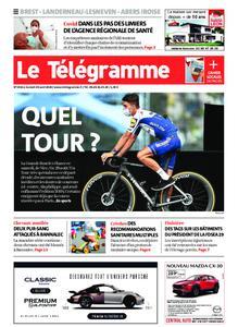 Le Télégramme Brest Abers Iroise – 29 août 2020