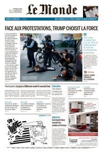 Le Monde du Mercredi 3 Juin 2020