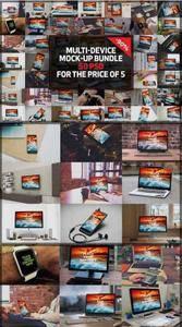 CreativeMarket - 50 Multi-Device Mock-up Mega Bundle