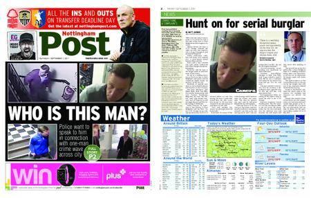 Nottingham Post – September 01, 2017