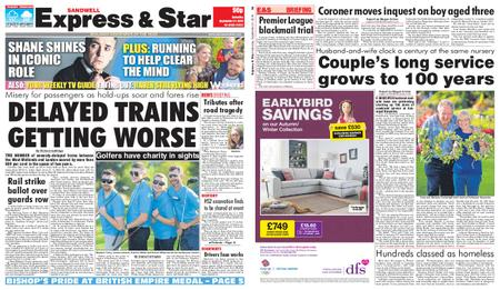 Express and Star Sandwell Edition – September 21, 2019