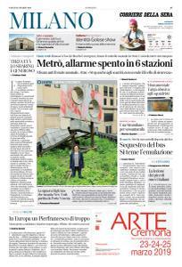 Corriere della Sera Milano - 23 Marzo 2019