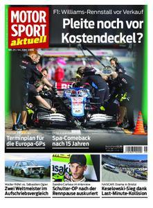 Motorsport Aktuell – 03. Juni 2020