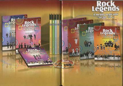 The Ed Sullivan Show - Rock Legends '50 '60 '70 (2009) {12xDVD5 PAL BoxSet}