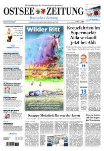 Ostsee Zeitung Rostock - 17. Juli 2019