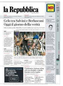 la Repubblica - 7 Maggio 2018