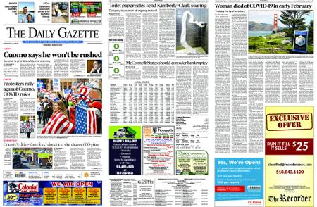 The Daily Gazette – April 23, 2020