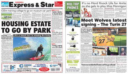 Express and Star Sandwell Edition – September 05, 2018