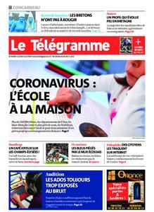 Le Télégramme Concarneau – 09 mars 2020