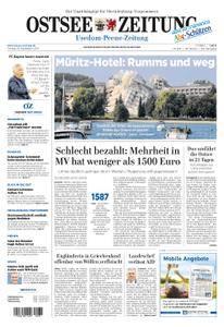 Ostsee Zeitung Wolgast - 29. September 2017