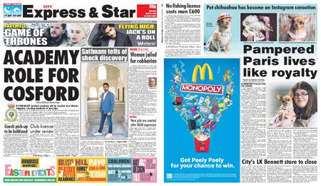 Express and Star City Edition – April 13, 2019