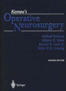 Kempe's Operative Neurosurgery (2nd edition)