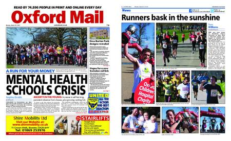 Oxford Mail – March 25, 2019