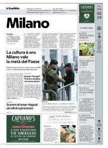 la Repubblica Milano - 9 Febbraio 2019