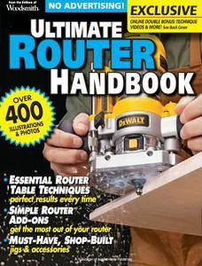 Ultimate Router Handbook 2012 (Woodsmith Special Edition)