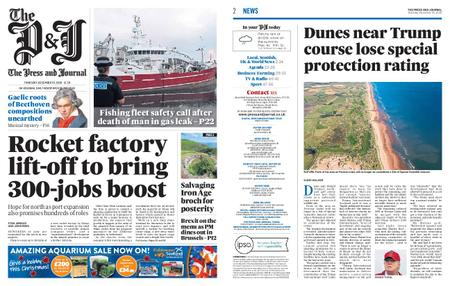 The Press and Journal Moray – December 10, 2020