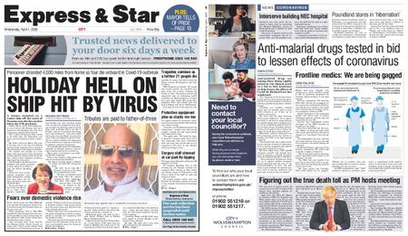 Express and Star City Edition – April 01, 2020