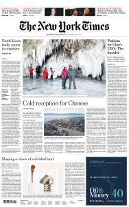 International New York Times - 6 May 2019