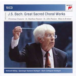 Bach - Great Sacred Choral Works (Helmuth Rilling) [2010]