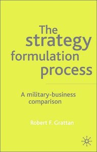The Strategy Formulation Process: A Military-Business Comparison (repost)