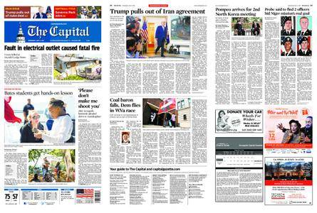 The Capital – May 09, 2018