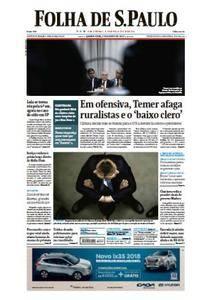 Folha de São Paulo - 02 Agosto 2017 - Quarta