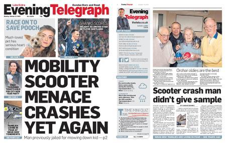 Evening Telegraph First Edition – October 14, 2019