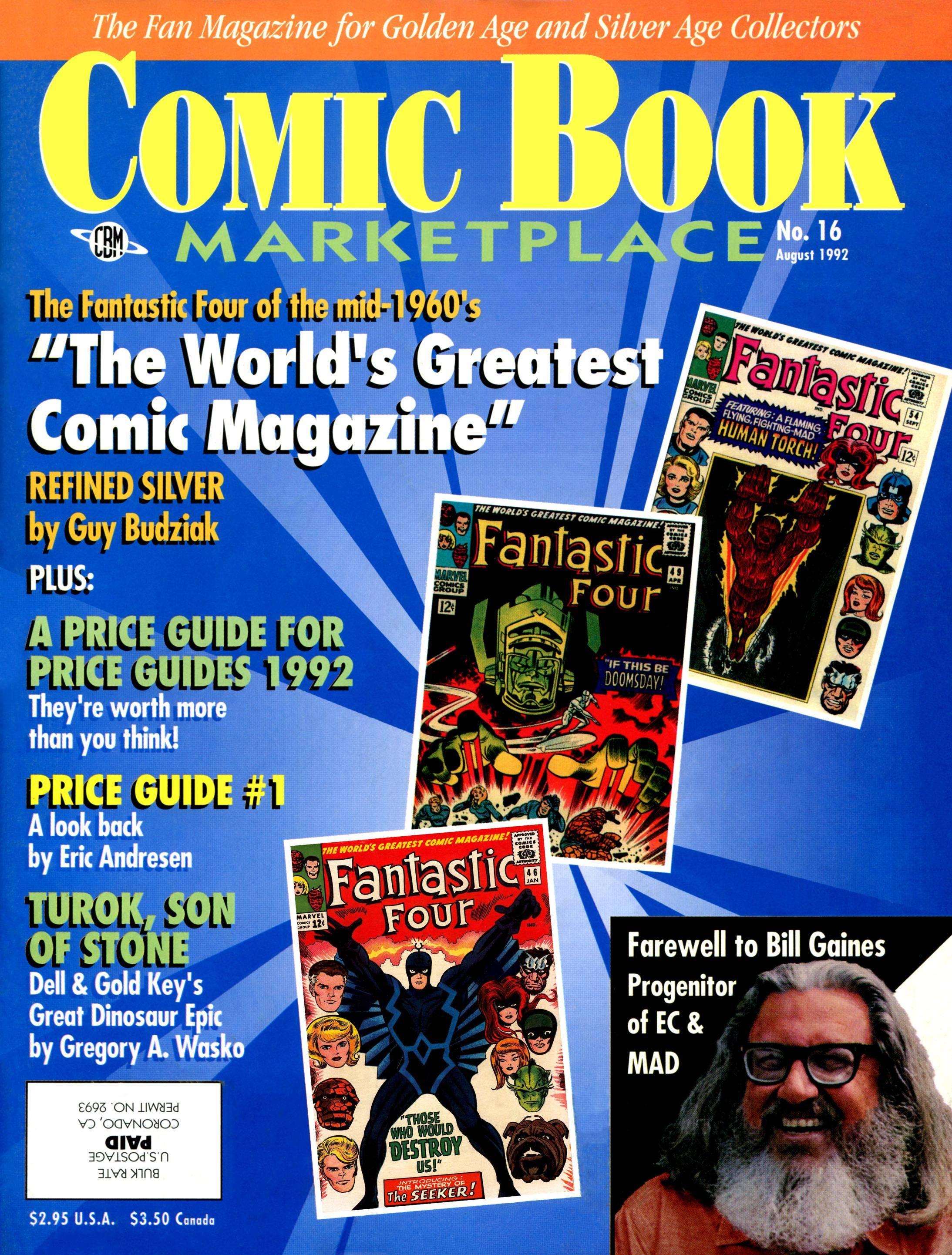 Comic Book Marketplace 016 1992