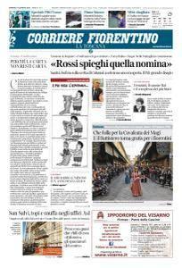 Corriere Fiorentino La Toscana - 7 Gennaio 2018