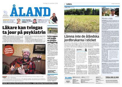 Ålandstidningen – 15 november 2018