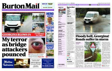 Burton Mail – January 25, 2018