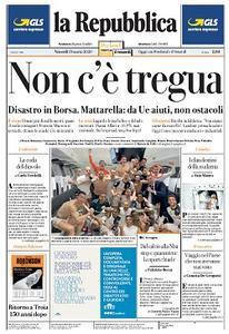 la Repubblica - 13 Marzo 2020