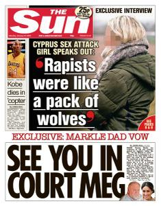 The Sun UK - 27 January 2020