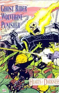 Ghost Rider Wolverine Punisher - Hearts of darkness