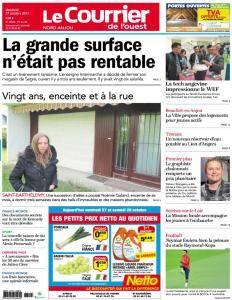 Le Courrier de l'Ouest Nord Anjou - 27 Octobre 2017