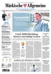 Neue Oranienburger Zeitung - 25. Juli 2019