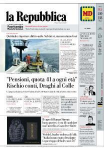 la Repubblica - 5 Ottobre 2018