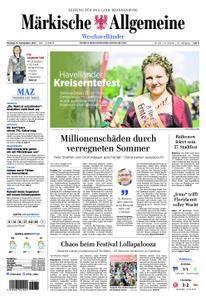 Märkische Allgemeine Westhavelländer - 11. September 2017