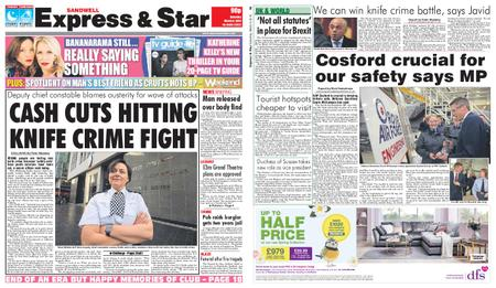 Express and Star Sandwell Edition – March 09, 2019