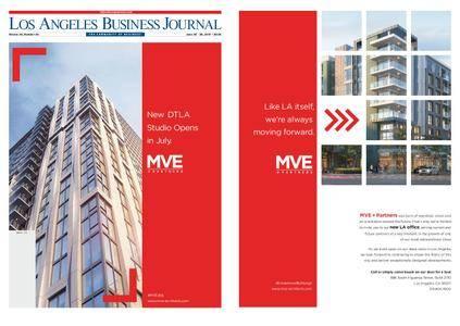 Los Angeles Business Journal – June 20, 2016